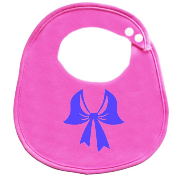 BibEasy Cute Girls Newborn Dribble Baby Bib