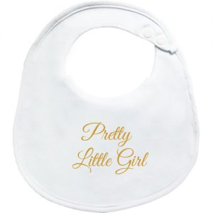Pretty Little Girl BibEasy Baby Bib