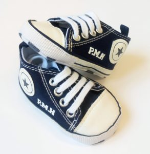 Personalised-converse-style-shoes-navy